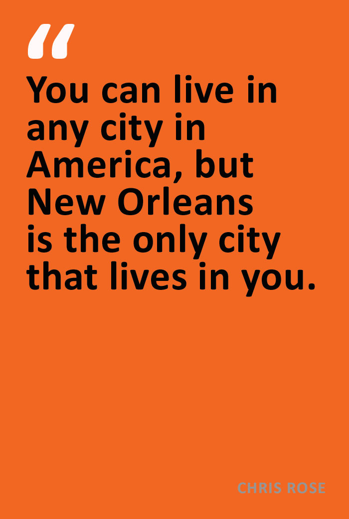 Chris Rose Quote 3 New Orleans